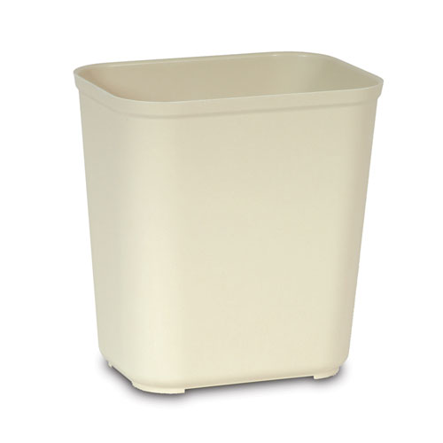 Rubbermaid Fire-Resistant Fiberglass Wastebasket SKU#RCP2543BEI, Rubbermaid Fire-Resistant Fiberglass Wastebaskets SKU#RCP2543BEI