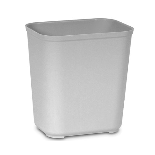 Rubbermaid Fire-Resistant Fiberglass Wastebasket SKU#RCP2543GRA, Rubbermaid Fire-Resistant Fiberglass Wastebaskets SKU#RCP2543GRA