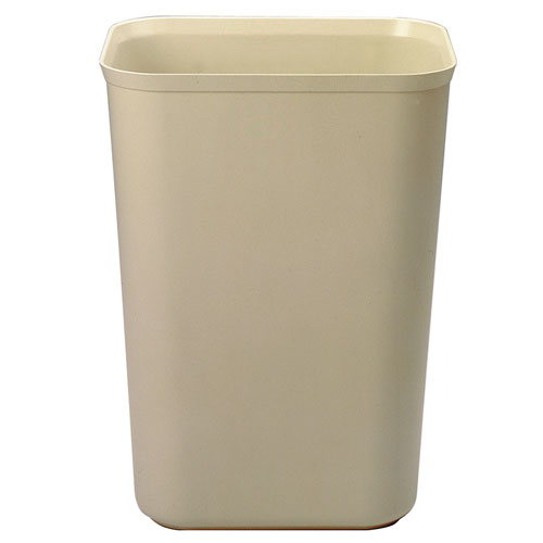 Rubbermaid Fire-Resistant Fiberglass Wastebasket SKU#RCP2544BEI, Rubbermaid Fire-Resistant Fiberglass Wastebaskets SKU#RCP2544BEI