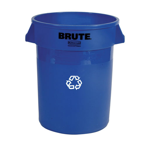 Rubbermaid Brute 32 Gal Round Container SKU#RCP2632BLU, Rubbermaid Brute 32 Gallon Round Containers SKU#RCP2632BLU