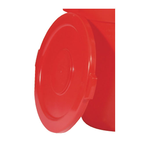Rubbermaid Brute 32 Gal Round Container Lid SKU#RCP2631RED, Rubbermaid Brute 32 Gallon Round Container Lids SKU#RCP2631RED