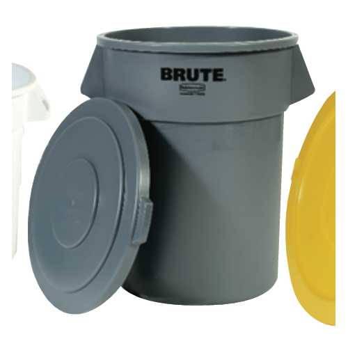 Rubbermaid Brute 32 Gal Round Container SKU#RCP2632GRA, Rubbermaid Brute 32 Gallon Round Containers SKU#RCP2632GRA