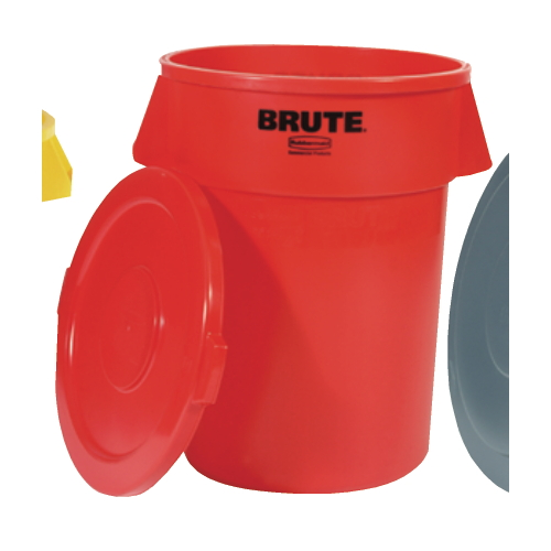 Rubbermaid Brute 32 Gal Round Container SKU#RCP2632RED, Rubbermaid Brute 32 Gallon Round Containers SKU#RCP2632RED