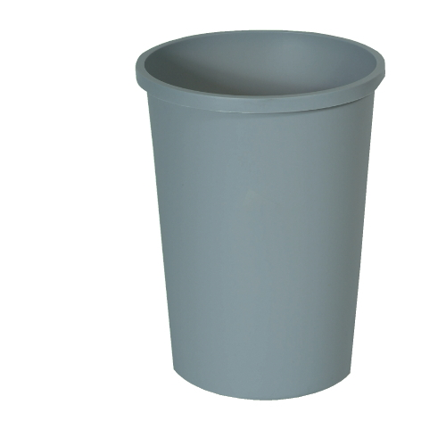 Rubbermaid Untouchable Round Waste Container SKU#RCP2947GRA, Rubbermaid Untouchable Round Waste Container SKU#RCP2947GRA