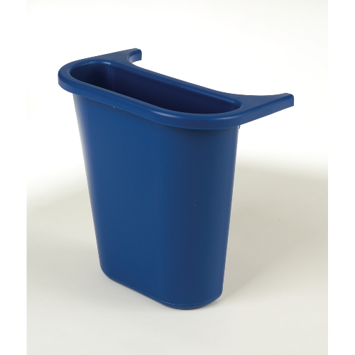 Rubbermaid Wastebasket Recycling Side Bin SKU#RCP2950-73BLU, Rubbermaid Wastebasket Recycling Side Bin SKU#RCP2950-73BLU