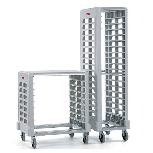 Rubbermaid Commercial Max System Racks (18 slot end loader for full size insert pans) SKU#RCP3317OWHT, Rubbermaid Commercial Max System Rack (Shown right - 18 slot end loader for full size insert pans) SKU#RCP3317OWHT