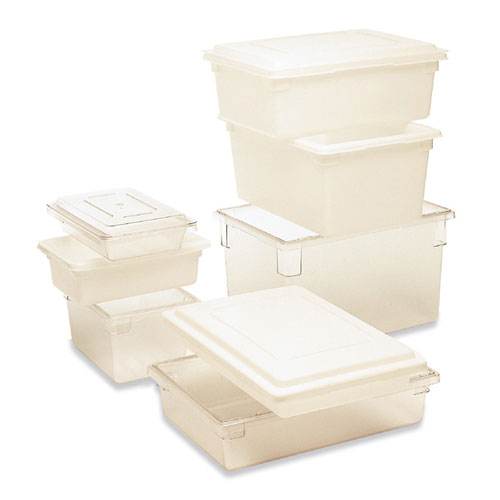 Rubbermaid 18x12 Food Box 2 Gal SKU#RCP3507WHI, Rubbermaid 18x12 Food Boxes 2 Gallon SKU#RCP3507WHI