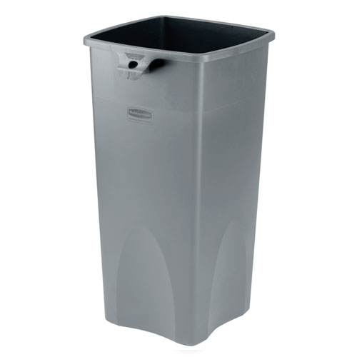 Rubbermaid Untouchable 23 Gal Square Container SKU#RCP3569-88GRA, Rubbermaid Untouchable 23 Gallon Square Containers SKU#RCP3569-88GRA