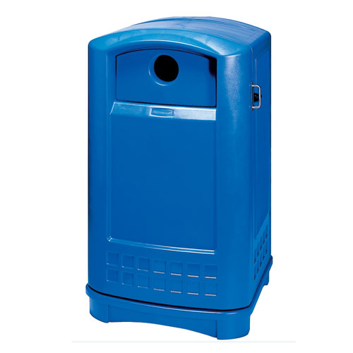 Plaza Bottle Can Recycle Containers SKU#RCP3968, Plaza Bottle Can Recycle Container SKU#RCP3968 (Shown in Blue)