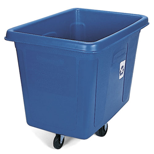 Rubbermaid Bulk Recycling Cube Trucks SKU#RCP4616-73BLU, Rubbermaid Bulk Recycling Cube Truck SKU#RCP4616-73BLU