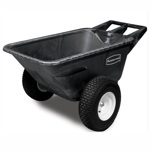 Rubbermaid Commercial 7.5 CuFt Heavy Duty Big Wheel Carts SKU#RCP5642-10, Rubbermaid Commercial 7.5 CuFt Heavy Duty Big Wheel Cart SKU#RCP5642-10