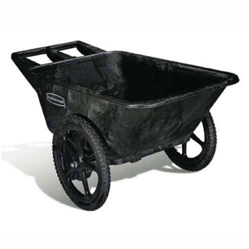 Rubbermaid Commercial 7.5 CuFt Big Wheel Carts (Unassembled) SKU#RCP5642-61, Rubbermaid Commercial 7.5 CuFt Big Wheel Cart (Unassembled) SKU#RCP5642-61