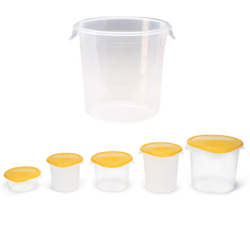 Rubbermaid Round Storage Container SKU#RCP5721-24CLE, Rubbermaid Round Storage Containers SKU#RCP5721-24CLE