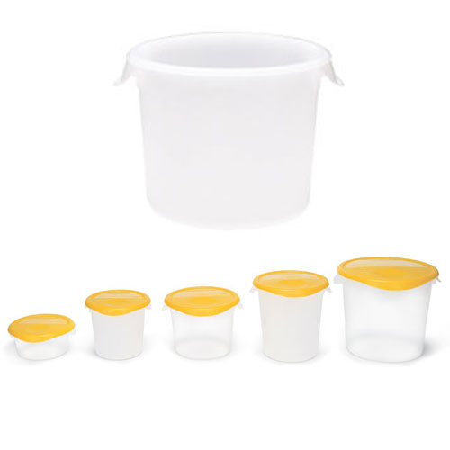 Rubbermaid Commercial Round Storage Containers SKU#RCP5723, Rubbermaid Commercial Round Storage Container SKU#RCP5723