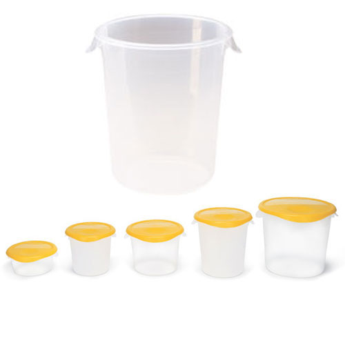 Rubbermaid Commercial Round Storage Containers SKU#RCP5724, Rubbermaid Commercial Round Storage Container SKU#RCP5724