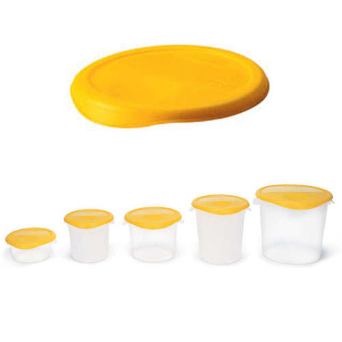 Rubbermaid Round Storage Container Lid SKU#RCP5730YEL, Rubbermaid Round Storage Container Lids SKU#RCP5730YEL