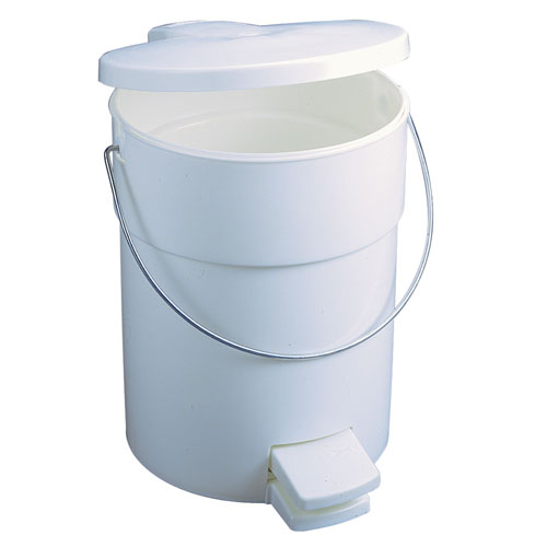 Rubbermaid Round Receptacles SKU#RCP6142WHI, Rubbermaid Round Receptacle SKU#RCP6142WHI