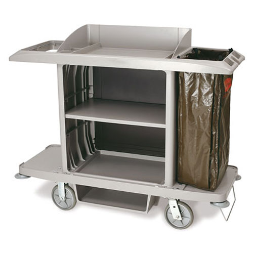 Rubbermaid Commercial Full Size Housekeeping Carts SKU#RCP6189, Rubbermaid Commercial Full Size Housekeeping Cart SKU#RCP6189