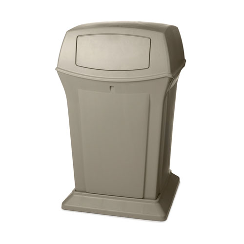 Rubbermaid Ranger 45 Gal Trash Container SKU#RCP9171-88BEI, Rubbermaid Ranger 45 Gallon Trash Container SKU#RCP9171-88BEI
