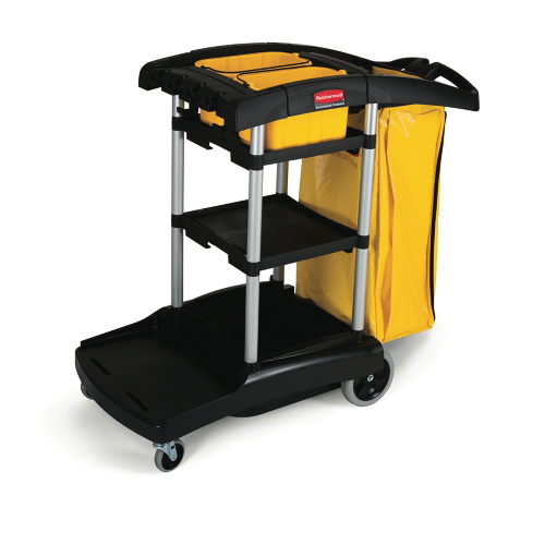 Rubbermaid High-Capacity Cleaning Carts SKU#RCP9T72, Rubbermaid High-Capacity Cleaning Cart SKU#RCP9T72
