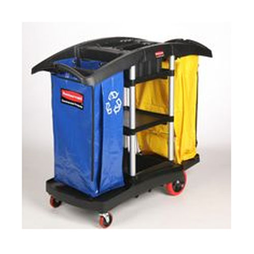 Rubbermaid Commercial Double Capacity Cleaning Carts SKU#RCP9T79, Rubbermaid Commercial Double Capacity Cleaning Cart SKU#RCP9T79