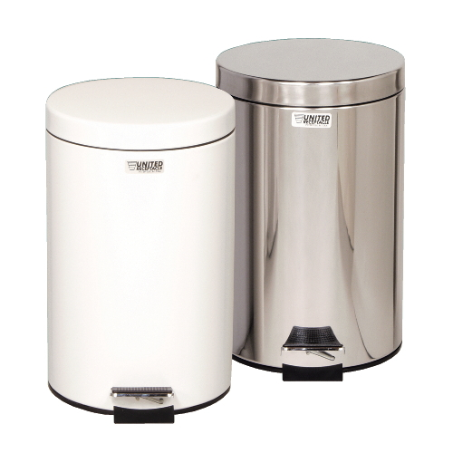 Rubbermaid Steel Step Cans SKU#RCPMST35SSPL, Rubbermaid Steel Step Can SKU#RCPMST35SSPL
