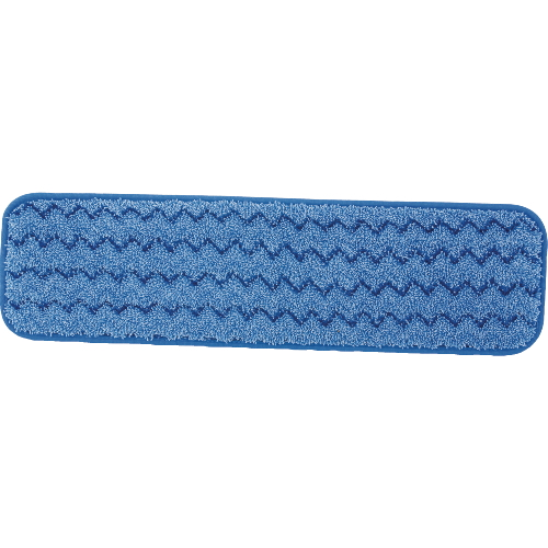 Rubbermaid HYGEN 18 Inch Wet Mopping Pads SKU#RCPQ410BLU, Rubbermaid HYGEN 18 Inch Wet Mopping Pad SKU#RCPQ410BLU