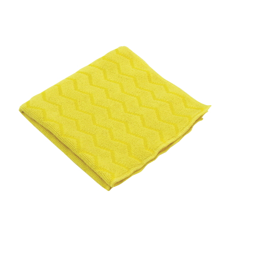 Rubbermaid HYGEN Microfiber Cleaning Cloth SKU#RCPQ610YEL, Rubbermaid HYGEN Microfiber Cleaning Cloths SKU#RCPQ610YEL