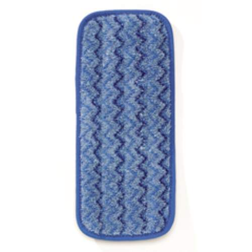 Rubbermaid 11 Inch Wall-Stair Wet Microfiber Mopping Pad SKU#RCPQ820BLU, Rubbermaid 11 Inch Wall-Stair Wet Microfiber Mopping Pad SKU#RCPQ820BLU