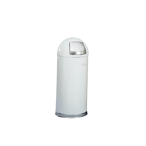 Rubbermaid Fire-Safe Dome Top Receptacle SKU#RCPR1536EGLW, Rubbermaid Fire-Safe Dome Top Receptacle SKU#RCPR1536EGLW