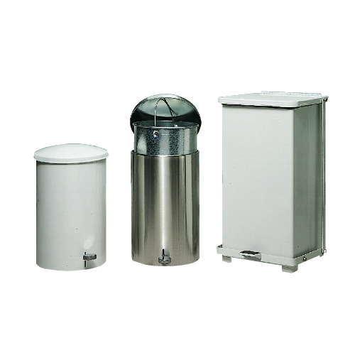 Rubbermaid Defenders 12 Gal Heavy-Duty Step Cans for Infectious Waste SKU#RCPST12EPLWH, Rubbermaid Defenders 12 Gallon Heavy-Duty Step Can for Infectious Waste SKU#RCPST12EPLWH