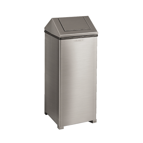 Rubbermaid WasteMaster Nonmagnetic Stainless Steel Fire-Safe Receptacle SKU#RCPT1424SSPL, Rubbermaid WasteMaster Nonmagnetic Stainless Steel Fire-Safe Receptacle SKU#RCPT1424SSPL
