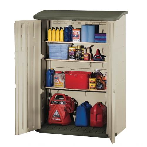 Rubbermaid Large Vertical Outdoor Storage Shed Sku Rhp3746