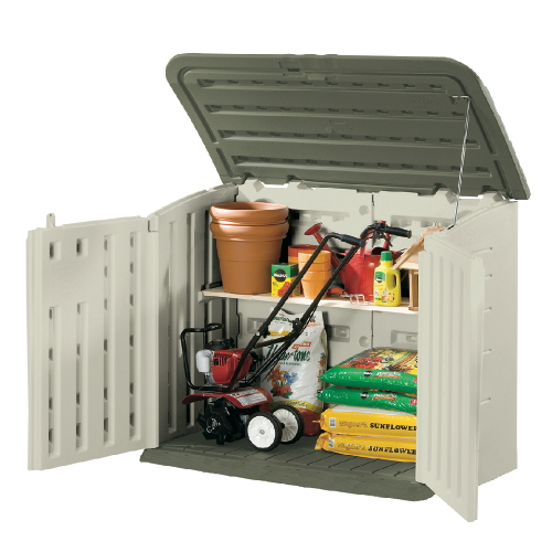 Rubbermaid Large Horizontal Outdoor Storage Shed SKU#RHP3747, Rubbermaid Large Horizontal Outdoor Storage Shed SKU#RHP3747