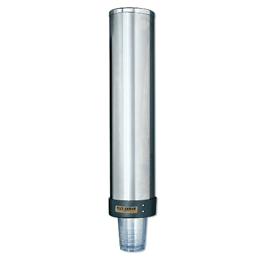 San Jamar Large Water Cup Dispensers w Removable Caps SKU#SANC3400P, San Jamar Large Water Cup Dispenser with Removable Cap SKU#SANC3400P