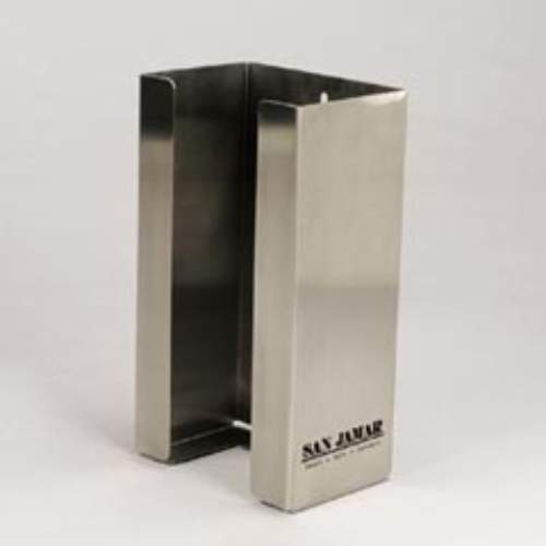 San Jamar Stainless Steel Single-Box Glove Dispensers SKU#SANG0801, San Jamar Stainless Steel Single-Box Glove Dispenser SKU#SANG0801
