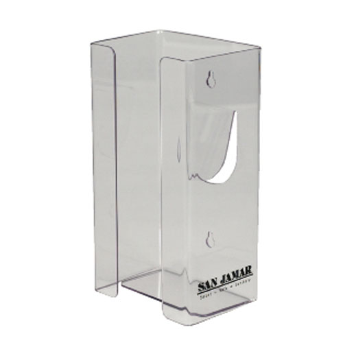 San Jamar Clear Plexiglas Single-Box Glove Dispensers SKU#SANG0803, San Jamar Clear Plexiglas Single-Box Glove Dispenser SKU#SANG0803