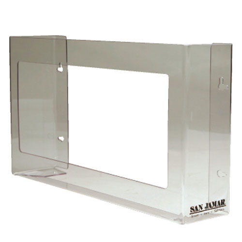 San Jamar Clear Plexiglas Three-Box Glove Dispensers SKU#SANG0805, San Jamar Clear Plexiglas Three-Box Glove Dispenser SKU#SANG0805