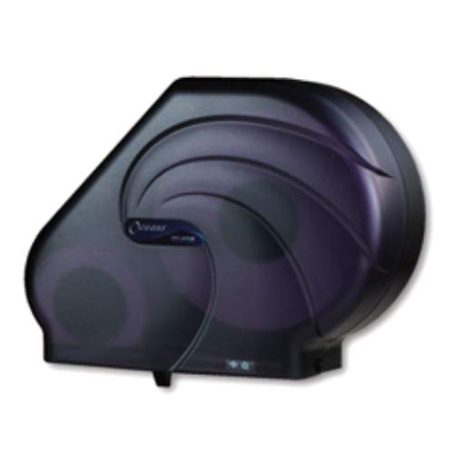 San Jamar JUMBO OCEANS Reserva Roll Bath Tissue Dispensers w Stub Roll Compartments SKU#SANR3090TBK, San Jamar JUMBO OCEANS Reserva Roll Bath Tissue Dispenser with Stub Roll Compartment SKU#SANR3090TBK