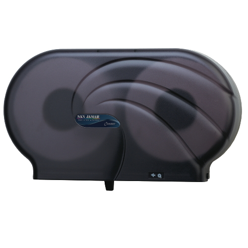 San Jamar Twin JBT Jumbo Bath Tissue Dispensers SKU#SANR4090TBK, San Jamar Twin JBT Jumbo Bath Tissue Dispenser SKU#SANR4090TBK