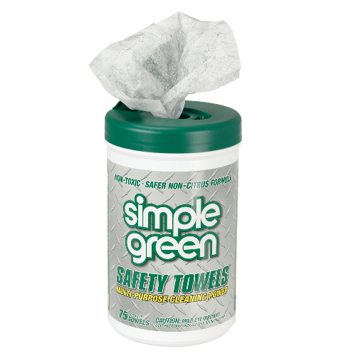 Simple Green Safety Towel SKU#SMP13351CT, Simple Green Safety Towels SKU#SMP13351CT