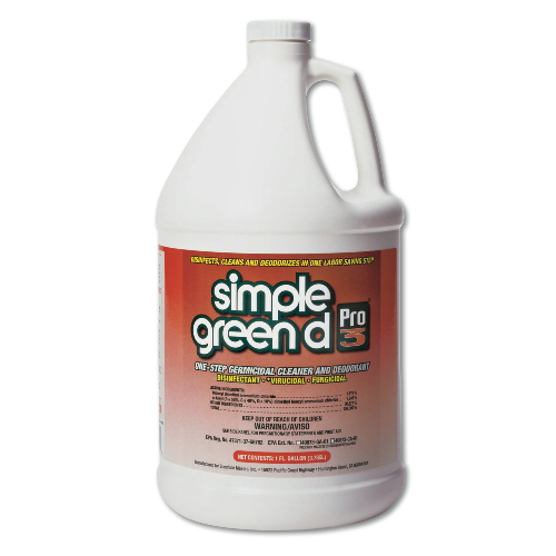 Simple Green Simple Green d Pro 3 One-Step Germicidal Cleaner & Deodorants SKU#SMP30301, Simple Green Simple Green d Pro 3 One-Step Germicidal Cleaner & Deodorant SKU#SMP30301