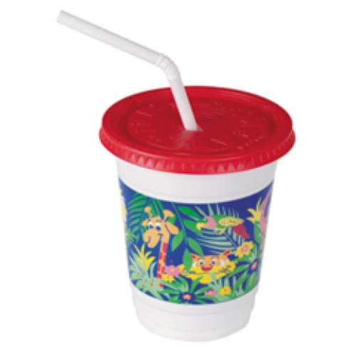 Solo Plastic Kid's Cup Combo Pack Jungle Design SKU#SCCCC12C-J5145, Solo Plastic Kid's Cup Combo Pack Jungle Design SKU#SCCCC12C-J5145