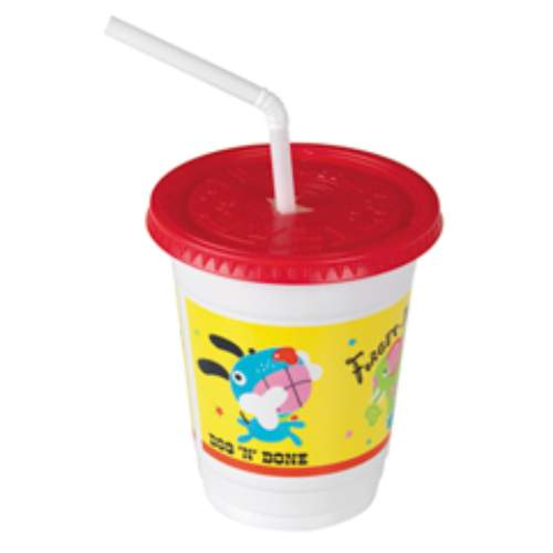 Solo Plastic Kid's Cup Combo Pack Critters Design SKU#SCCCC12C-J5146, Dart Solo Plastic Kid's Cup Combo Pack Critters Design SKU#SCCCC12C-J5146
