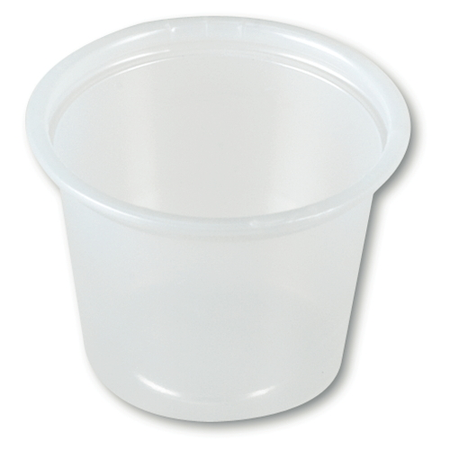 Solo Plastic Souffle Container SKU#SCCP100, Dart Solo Plastic Souffle Container SKU#SCCP100