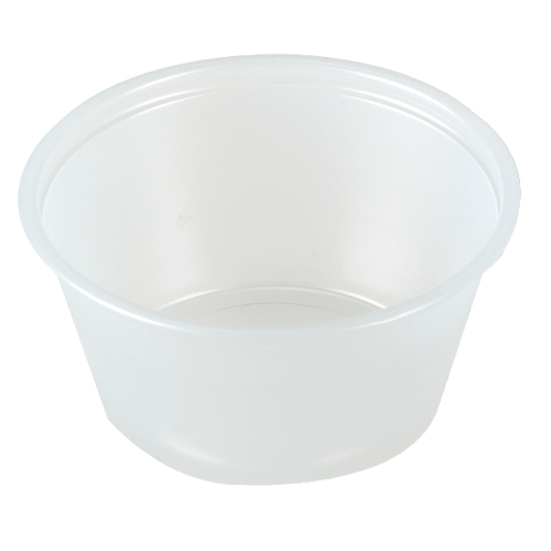 Solo Plastic Souffle Container SKU#SCCP325, Dart Solo Plastic Souffle Container SKU#SCCP325