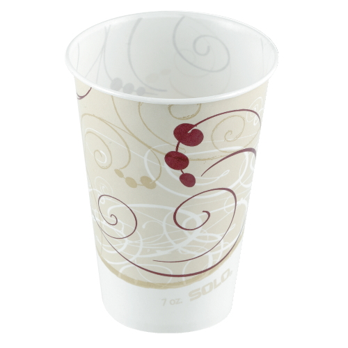 Solo Wax-Coated Paper Cold Cup SKU#SCCR53SYMCT, Solo Wax-Coated Paper Cold Cup SKU#SCCR53SYMCT