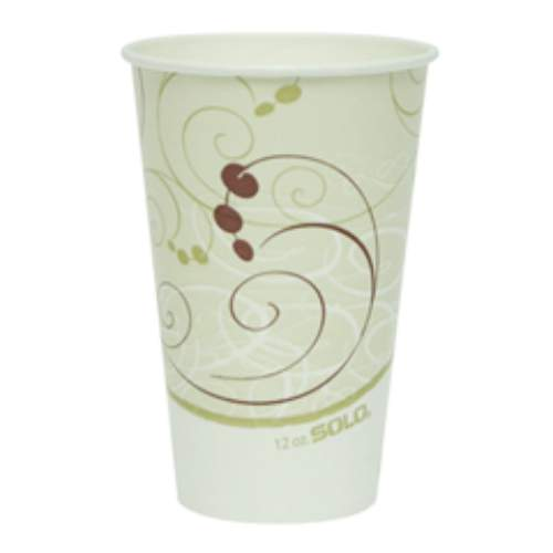 Solo Double-Polycoated Paper Cold Cup SKU#SCCRP12NSYM, Dart Solo Double-Polycoated Paper Cold Cup SKU#SCCRP12NSYM
