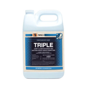 SSS Triple Carpet Cleaner Deodorizer & Hard Surface Disinfectant SKU#SSS48004, SSS Triple Carpet Cleaner Deodorizer & Hard Surface Disinfectant SKU#SSS48004