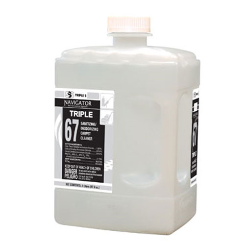 SSS Navigator #67 Triple Carpet Sanitizing Extraction Cleaner 2Ltr SKU#SSS48267, SSS Navigator #67 Triple Carpet Sanitizing Extraction Cleaner 2Ltr SKU#SSS48267